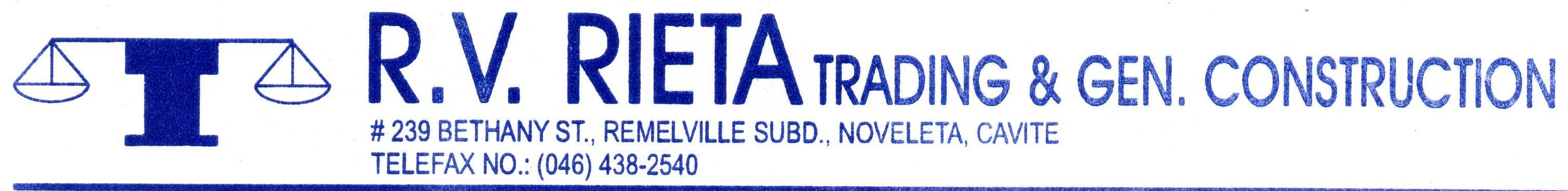 RV Rieta Trading & General Construction