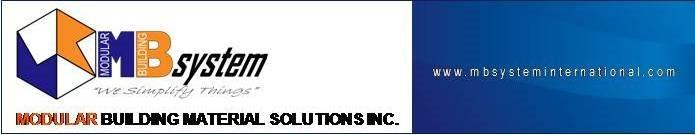 Modular Building Material Solutions, Inc.