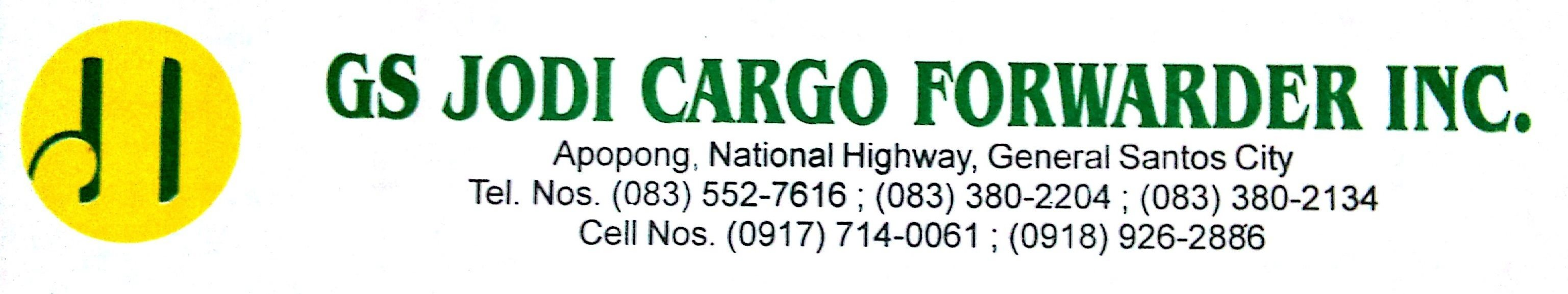 gs jodi cargo forwarder inc.